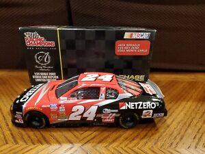 1/24 Jack Sprague #24 Net Zero 2002 Monte Carlo Racing Champions Authentics