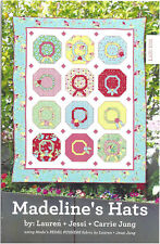 Quilt Pattern MADELINE'S HATS Moda THE JUNGS