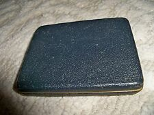 Vintage Zell Dark Green Lambskin Cigarette Case