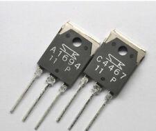 repair pair Audio Transistor Sanken  2SC4467 & 2SA 1694 120V 8 amp