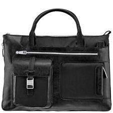 Piquadro Frame black Ladies Expandable Briefcase/Office bag CA1618FR/N