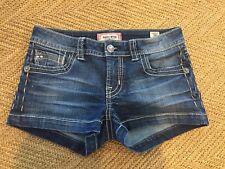 Mek Womens Denim Jean Shorts Darjeeling Size 26