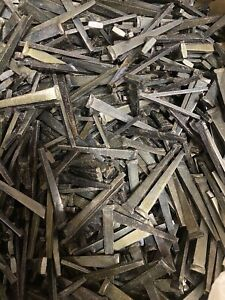 "GRIP RITE Cut Masonry Nails 8D x 2-1/2"" Hardened Steel (5LBS) FREE SHIPPING"