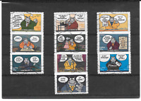FRANCE 2005.LE CHAT DE PHILIPPE GELUCK.SERIE COMPLETE DE 10 TIMBRES AA OBLITERES