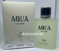 AQUA H2O Pour Home for Men EDT Natural Spray 3.3 oz Perfume by Royal