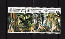ZES 1987 Tourism Vallee de Mai Praslin Nature Reserve Seychelles
