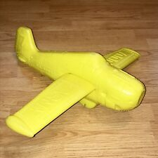 Vintage AJ Renzi Blow Mold Airplane Plastic Toy