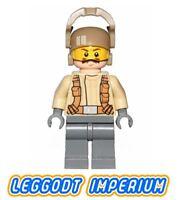 LEGO Minifigure Star Wars - Resistance Trooper - moustache sw696 FREE POST