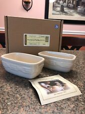 Longaberger Woven Traditions Dash Bowls - Ivory Set of 2
