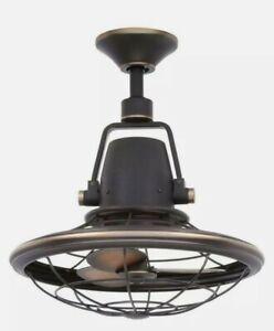 """Home Decorators Bentley II 18"""" Indoor/Outdoor Tarnished Bronze Ceiling Fan"""