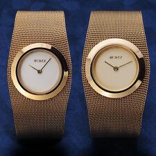 2018 New Fancy Dial Design Women Lady Mesh Band Quartz Wrist Watch Bangle