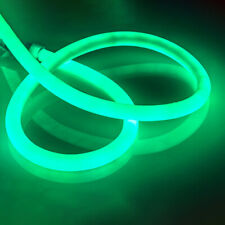 1-5m Green 360° SMD2835 Round LED Neon Rope Light Strip for Room Decor + Plug