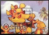 A338 TUVALU 2004 Flowers, Orchids S/S Souvenir Sheet Mint NH