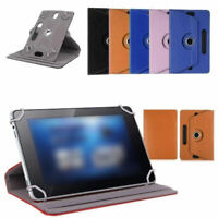 For IPad Air Cover 360 rotating PU Leather Stand Case Cover 7/8/9/10 Inch LNC