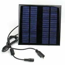 18V 2W Portable Solar Panel Power Battery Charger Backup For Car Boat Laptop PC