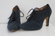 Clarks Suede Wide (E) Lace-up Heels for Women