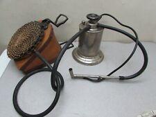 Antique RARE Early Buffalo Dental Bellows Foot Pump Control Air Gasoline Torch