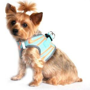 Doggie Design - Dog Harness - Neon Sport American River - Aruba Blue - XL