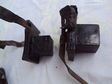 Antique judaica leather Tefilin East Europe Bucovina, original bag