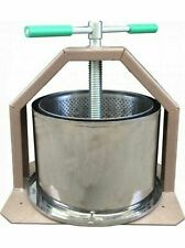 New! press wine 10l pres for fruit cider apple crusher juice grapes grapes stain
