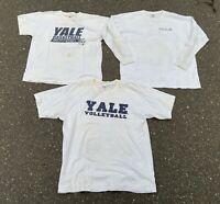 Lot Of 3 University Of Yale T-shirts Size XL - Mixed Clothing Lot - Reseller Lot