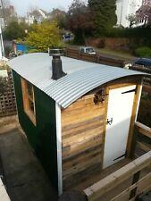 Shepherds hut home office