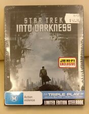 Star Trek Into Darkness Bluray Steelbook, JBHiFi Edition, New/Sealed