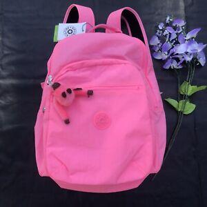 KIPLING SEOUL GO LARGE BACKPACK - LAPTOP PROTECTION  Pink Hydrangea Nwt
