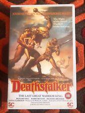 Rare - Deathstalker - Big Box VHS - Home Video - Horror - Pre Cert