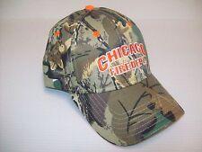Chicago Fire Department Cap Camo Cotton/Poly
