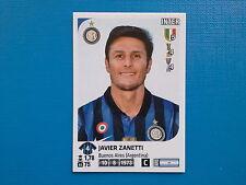 Figurine Calciatori Panini 2011-12 2012 n.206 Javier Zanetti Inter