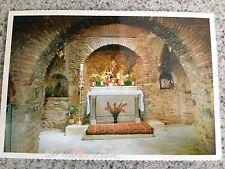 POSTCARD UNUSED TURKEY, EFES-IZMIR...INTERIOR OF ST. MARY'S HOUSE
