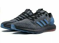 adidas Men PureBOOST LTD Boost Running Shoes B37811 Blue Black Size 9.5