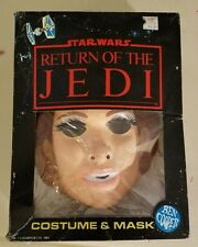 vintage 1980s ben cooper return of the jedi rotj princess leia halloween costume