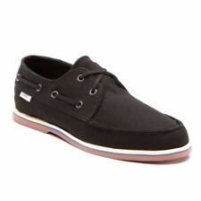 VANS Foghorn (Waxed) Black Casual Boat Slip Men's Skate SIZE 7.5