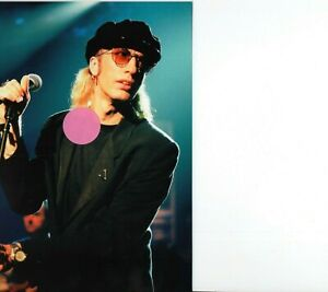 BEE GEES ROBIN GIBB 12 - 4X6 COLOR CONCERT PHOTO SET #41B