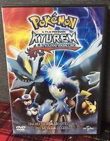 Pokemon il Fim Kyurem il Solenne Spadaccino DVD + Card sigillata Come DaFoto N