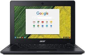 """Acer Chromebook C771 Ruggedized 11.6"""" 4GB RAM 32GB eMMC Black"""