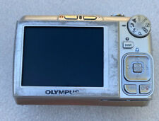 OLYMPUS FE-310 CAMERA 5X OPTICAL ZOOM TESTED WORKING PARTS ONLY