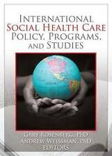 International Social Health Care Policy, Program, and Studies (Social Work in He