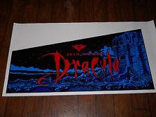 BRAM STOKER'S DRACULA PINBALL MACHINE 5 PC. CABINET ARTWORK/DECALS!*SUPER RARE!*