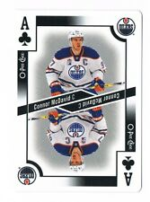 2017-18 O-Pee-Chee OPC Playing Cards Ace of Clubs AC Connor McDavid SP