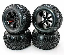 Team Redcat TR-MT10E Monter Truck Mounted Tire & Wheel Set (14mm/1:10 Scale)