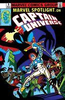 Marvel Spotlight #9 (1980) Marvel Comics Captain Universe