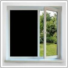 """24"""" X 25 Ft Roll Blackout Film Privacy For Offices,Bath,Glass Doors,Store,School"""