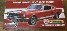 1/18 Lane Exact Detail 1966 Shelby GT 350 Red With White Stripes