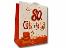 Geschenktüte zum 80. Geburtstag / Geschenk