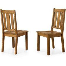 Better Homes Gardens Bankston Dining Chair Set Of 2 Honey Finish