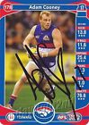 ✺Signed✺ 2014 WESTERN BULLDOGS AFL Card ADAM COONEY