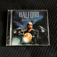 Halford Resurrection first edition CD Uk 2000 Judas Priest MISCD001 Heavy Metal